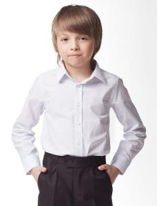 """Рубашка для мальчиков белого цвета """"Чемпион"""""""